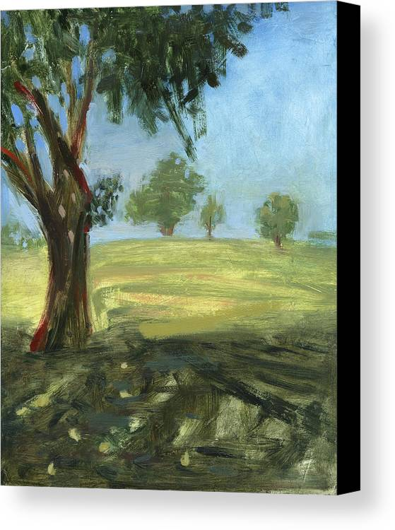 Trees Canvas Print featuring the painting Rcnpaintings.com by Chris N Rohrbach