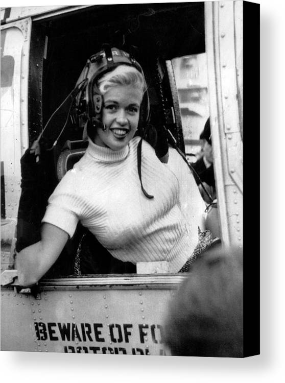 classic Canvas Print featuring the photograph Jayne Mansfield by Retro Images Archive