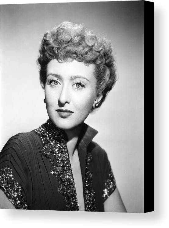 1950 Movies Canvas Print featuring the photograph All About Eve, Celeste Holm, 1950. Tm & by Everett
