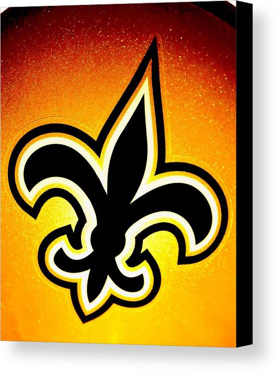 New Orleans Canvas Print featuring the photograph Black And Gold by Benjamin Yeager