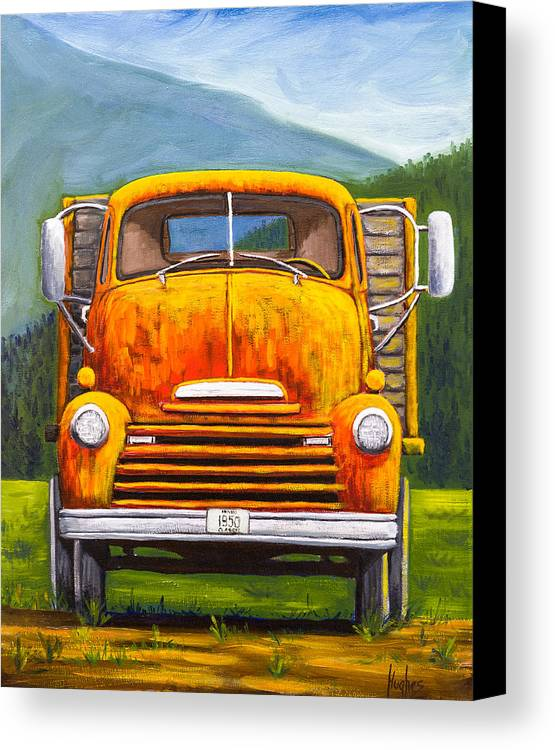 Cabover Truck by Kevin Hughes