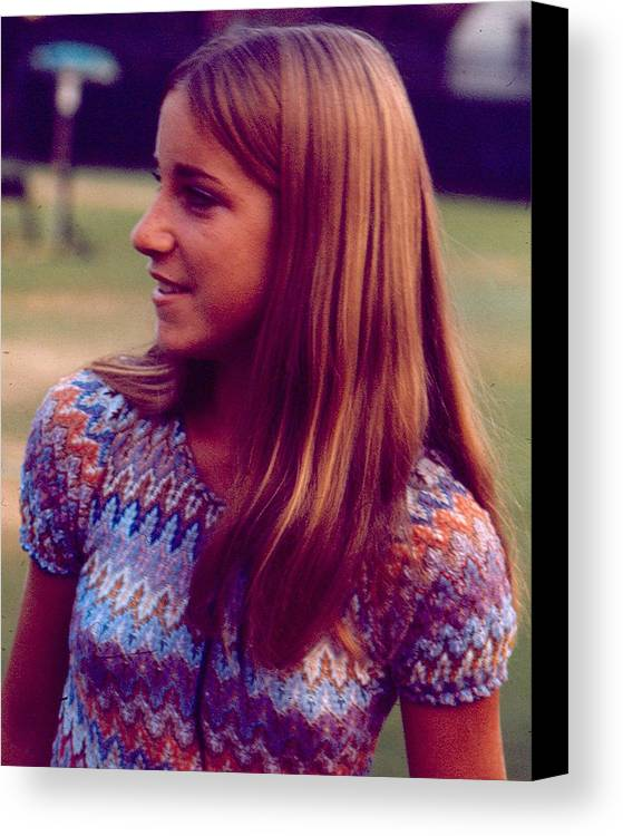 classic Canvas Print featuring the photograph Chris Evert by Retro Images Archive