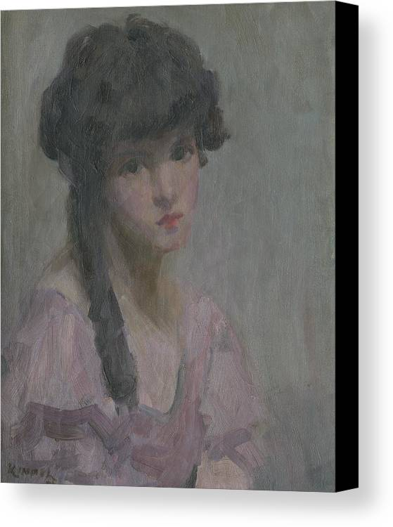 #lu Kimmel Canvas Print featuring the painting Day Dreaming by Lu Kimmel