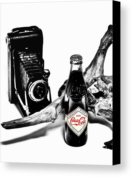 Limited Edition Bottles Canvas Print featuring the photograph Limited Edition Coke - No.008 by Joe Finney