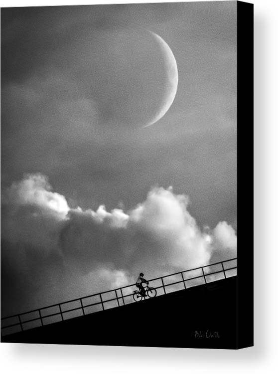 Crescent Moon Canvas Print featuring the photograph No Turning Back by Bob Orsillo