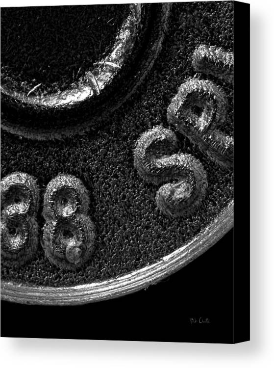 Bullet Canvas Print featuring the photograph Rim And Primer 38 Special by Bob Orsillo