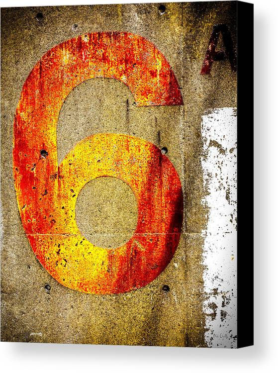 Six Canvas Print featuring the photograph Six by Bob Orsillo