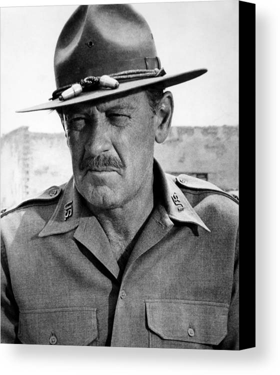 1960s Portraits Canvas Print featuring the photograph The Wild Bunch, William Holden, 1969 by Everett