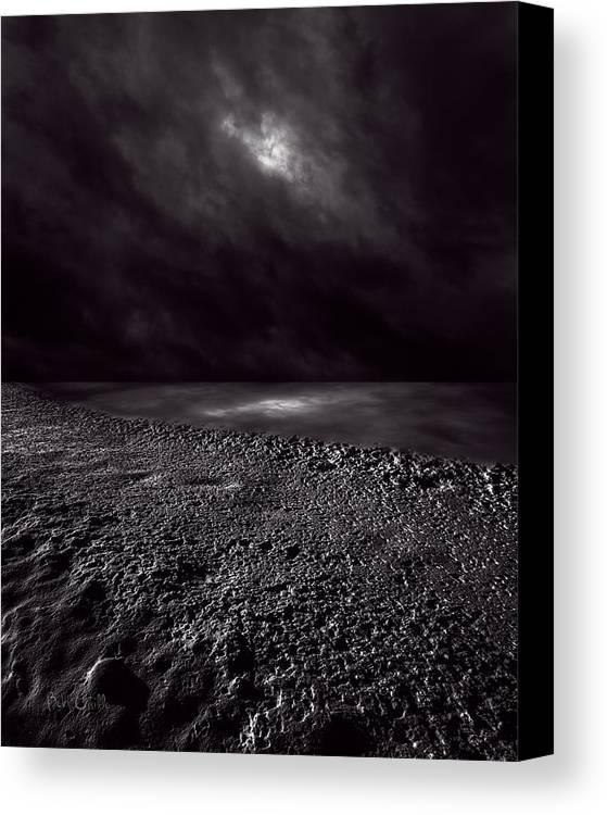 Winter Canvas Print featuring the photograph Winter Nightscape by Bob Orsillo