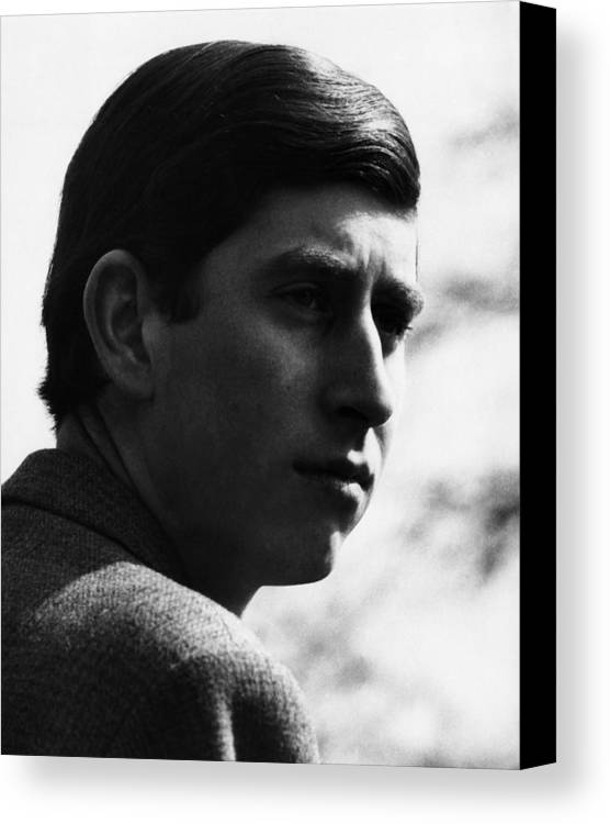 1960s Canvas Print featuring the photograph British Royalty. Future Prince Of Wales by Everett