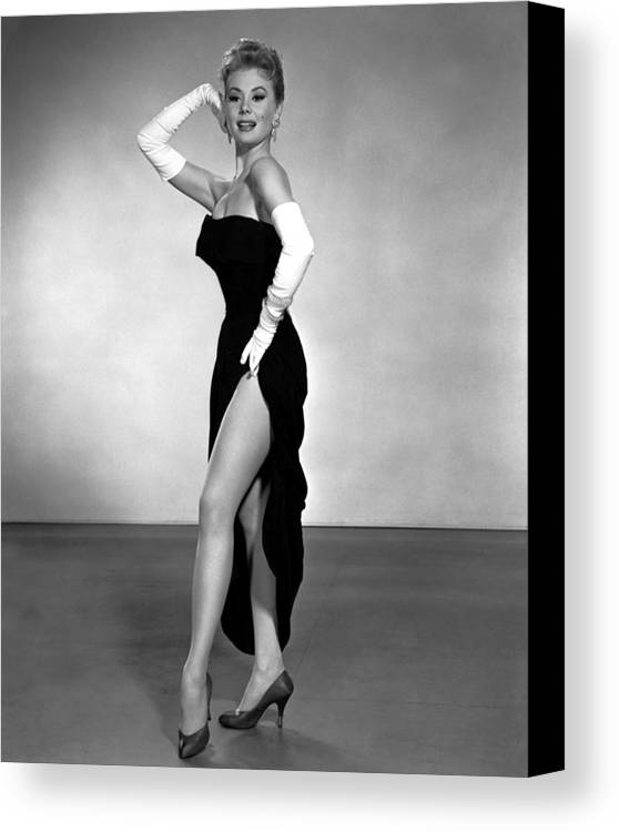 1950s Portraits Canvas Print featuring the photograph Les Girls, Mitzi Gaynor, 1957 by Everett