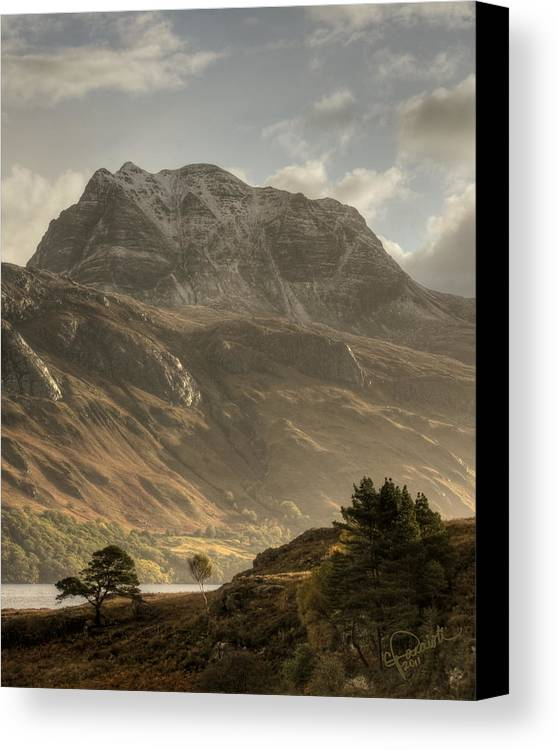 Scotland Canvas Print featuring the photograph Morning Glory by Colette Panaioti