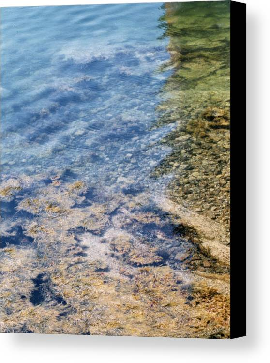 Penobscot Bay Canvas Print featuring the photograph Penobscot Bay by Barry Doherty