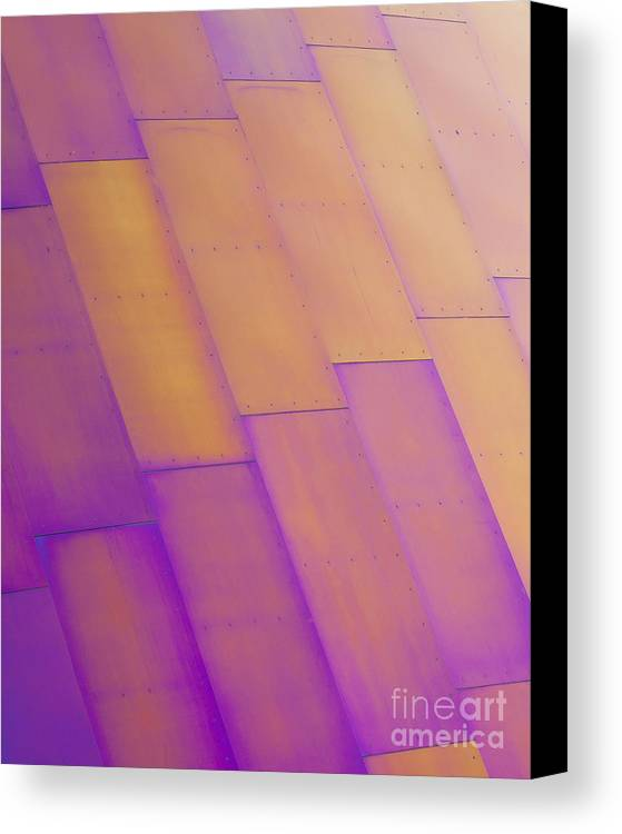Purple Canvas Print featuring the photograph Purple Orange I by Chris Dutton