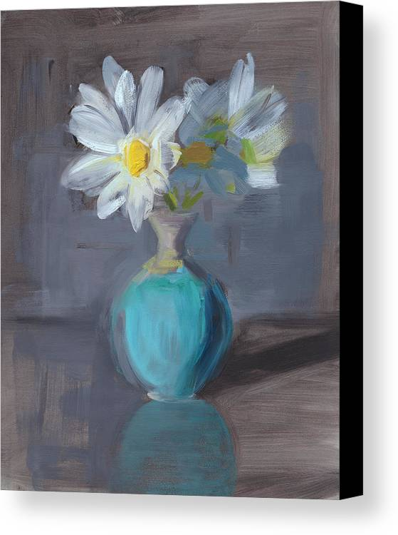 Daisy Canvas Print featuring the painting Rcnpaintings.com by Chris N Rohrbach