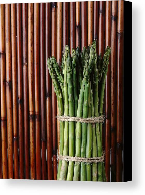 Asparagus Canvas Print featuring the photograph Asparagus by Jessica Wakefield