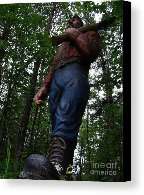 Statue Canvas Print featuring the photograph Big Jack by The Stone Age