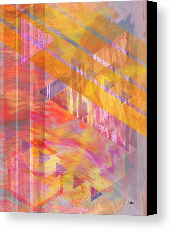 Affordable Art Canvas Print featuring the digital art Bright Dawn by John Beck