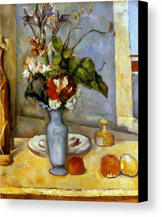 Cezanne Blue Vase 1885 87 Canvas Print Canvas Art By Granger
