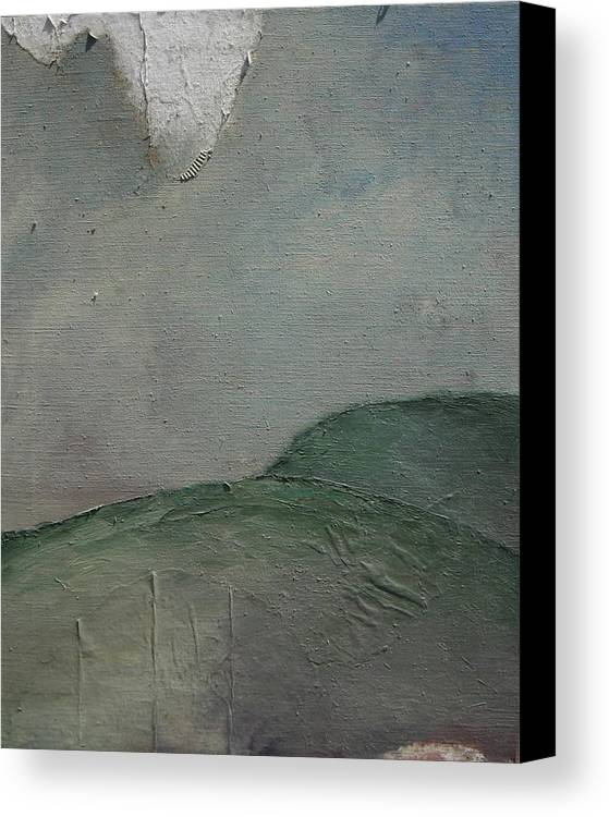 Landscape Canvas Print featuring the painting Delurii by Stephanie Cook