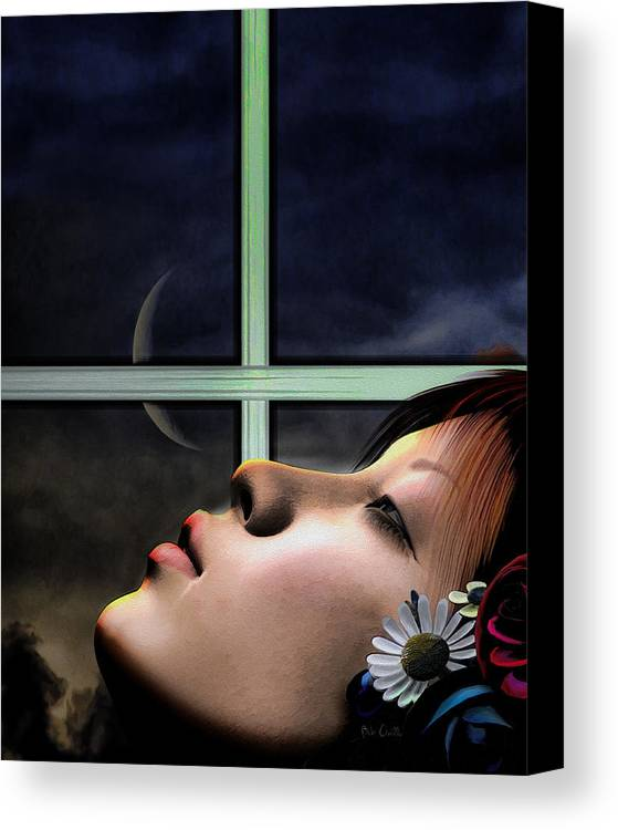 Dream Canvas Print featuring the digital art Dreams Are Made Of by Bob Orsillo