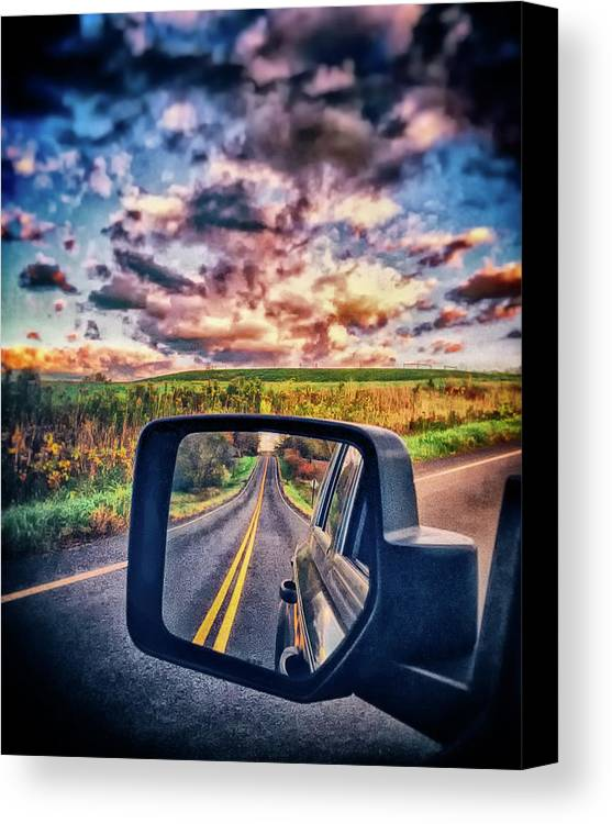Canvas Print featuring the photograph Dual Vision by Marvin Borst