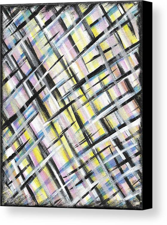 Easter Canvas Print featuring the painting Easter Weave by Eric Atherton