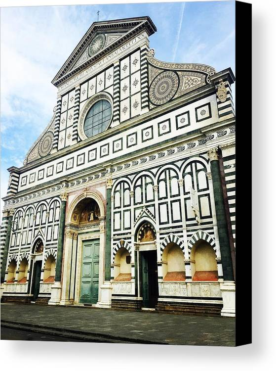 Cathedral Canvas Print featuring the photograph Florence Cathedral by Abigail Scott