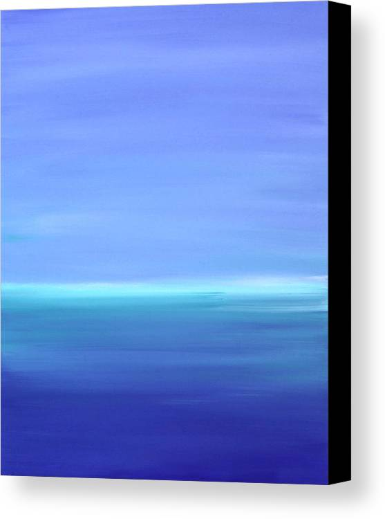 Water Paintings Canvas Print featuring the painting Forever by Tricia lee Kelshall