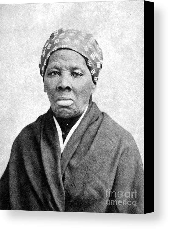 1895 Canvas Print featuring the photograph Harriet Tubman (1823-1913) by Granger
