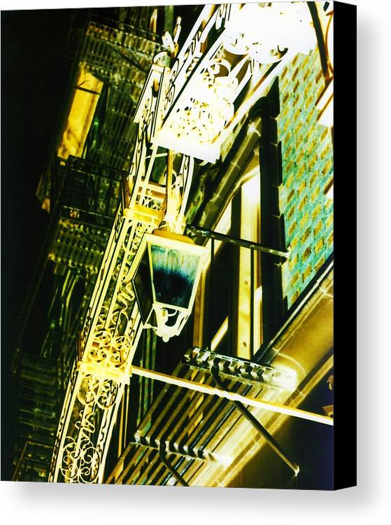 New York Canvas Print featuring the photograph Haunted by Karin Kohlmeier