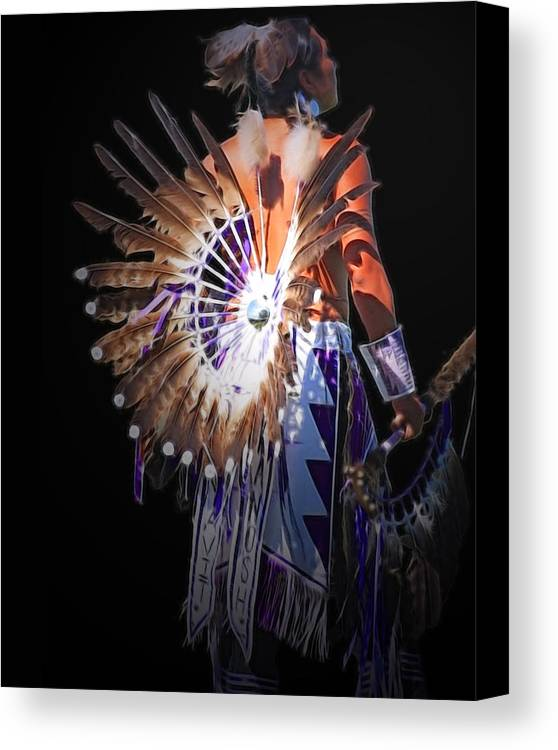 Native Canvas Print featuring the photograph Native Spirit by Gene Praag