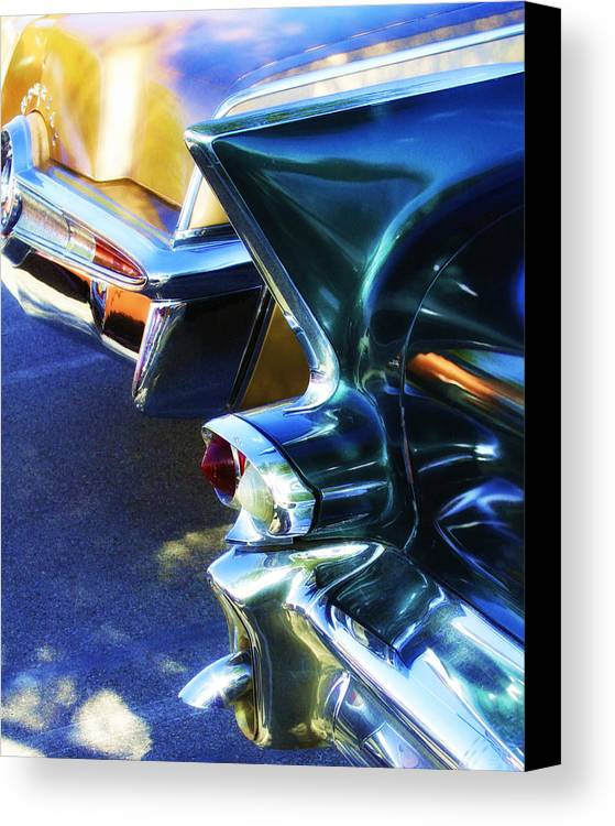 Car Auction Canvas Print featuring the photograph Nostalgia by William Dey