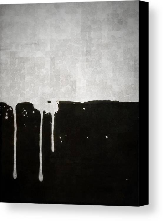 Brett Canvas Print featuring the digital art Origin by Brett Pfister