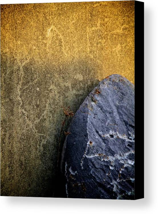 Surfacing Canvas Print featuring the photograph Rock And A Hard Place by Odd Jeppesen