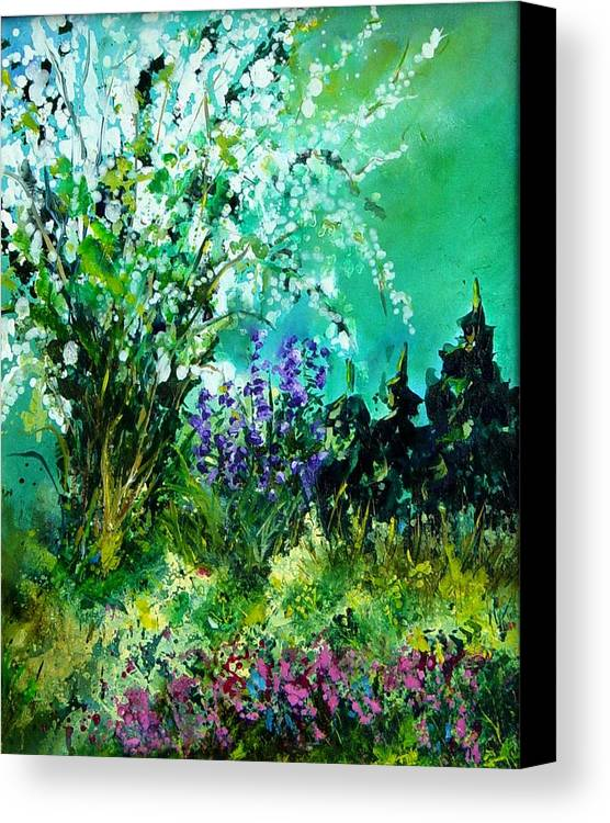 Tree Canvas Print featuring the painting Seringa by Pol Ledent