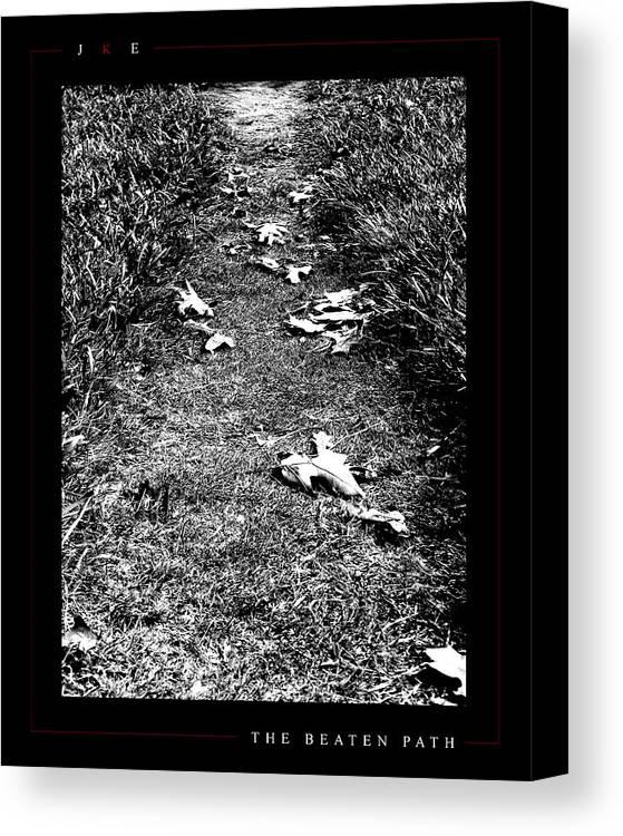 Ksu Canvas Print featuring the photograph The Beaten Path by Jonathan Ellis Keys