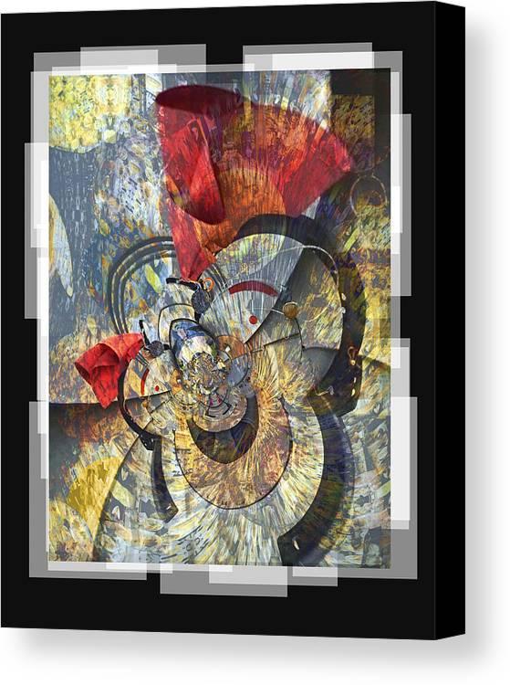 Bang Canvas Print featuring the digital art The Big Bang by Chuck Brittenham