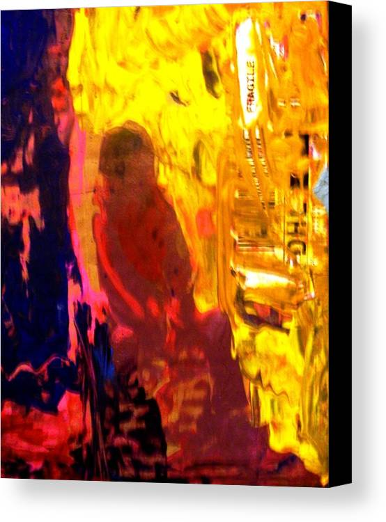 Abstract Canvas Print featuring the painting They Sent Home His Remains by Bruce Combs - REACH BEYOND