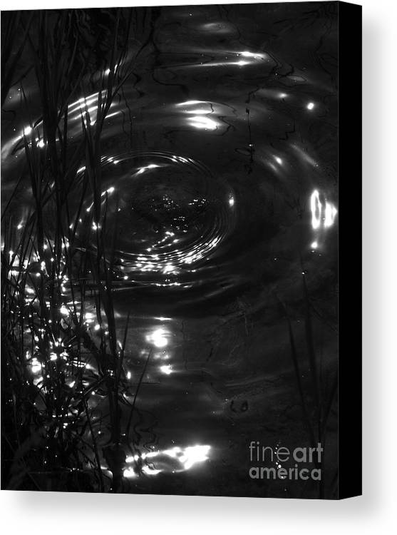 Water Canvas Print featuring the photograph Watermark by Hideaki Sakurai