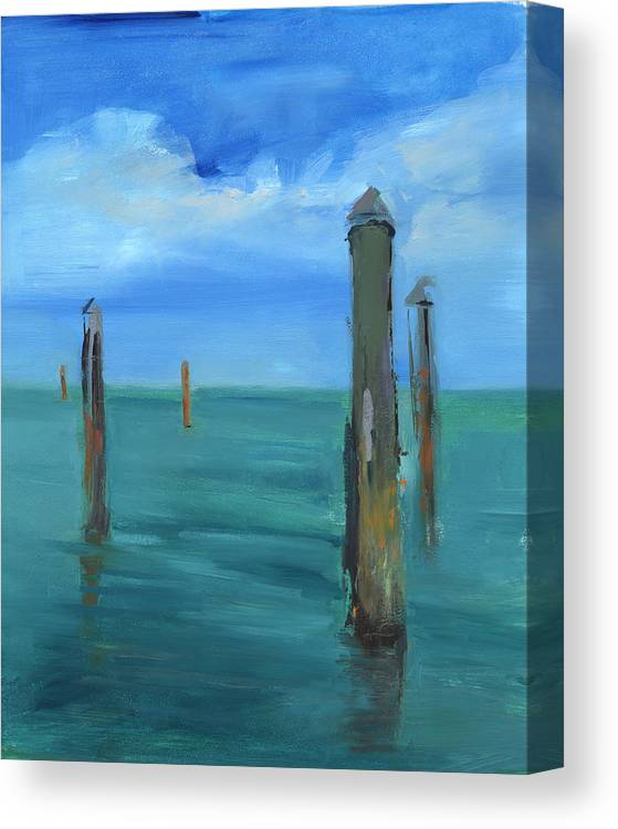 Florida Canvas Print featuring the painting Rcnpaintings.com by Chris N Rohrbach