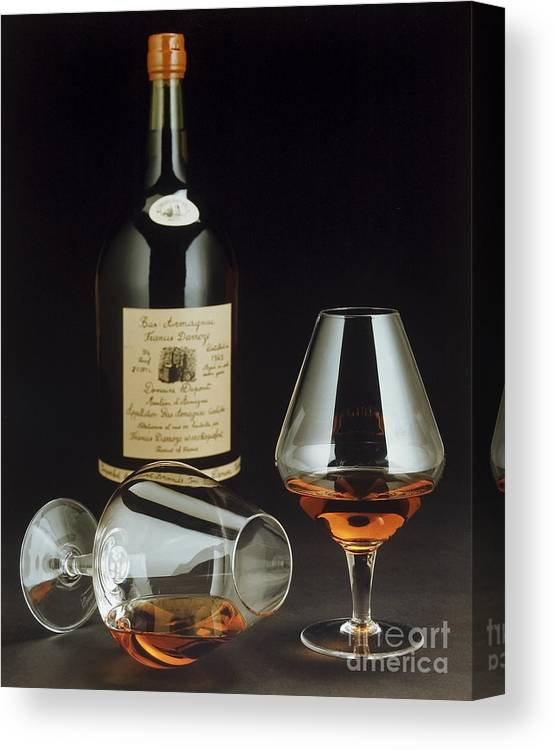 Wine Canvas Print featuring the photograph Brandy by Jerry McElroy