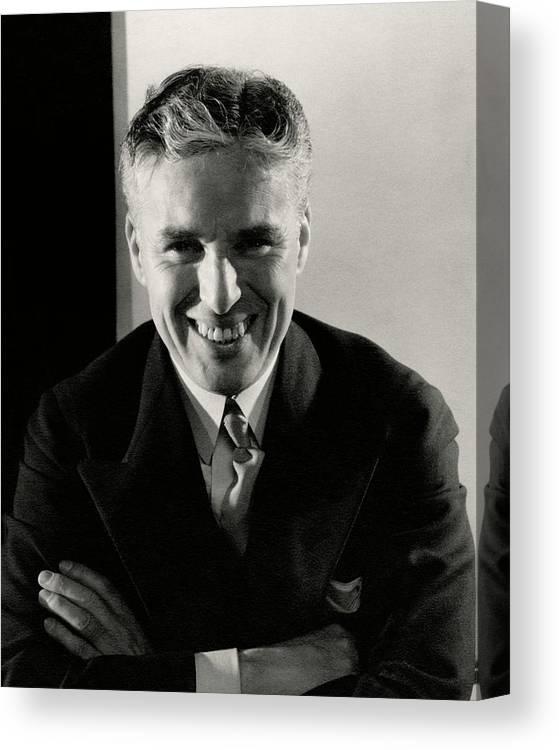 2033a02811aa2 Portrait Of Charlie Chaplin Canvas Print   Canvas Art by Edward Steichen