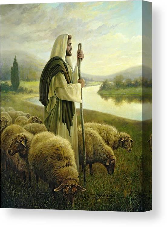 The Good Shepherd Canvas Print
