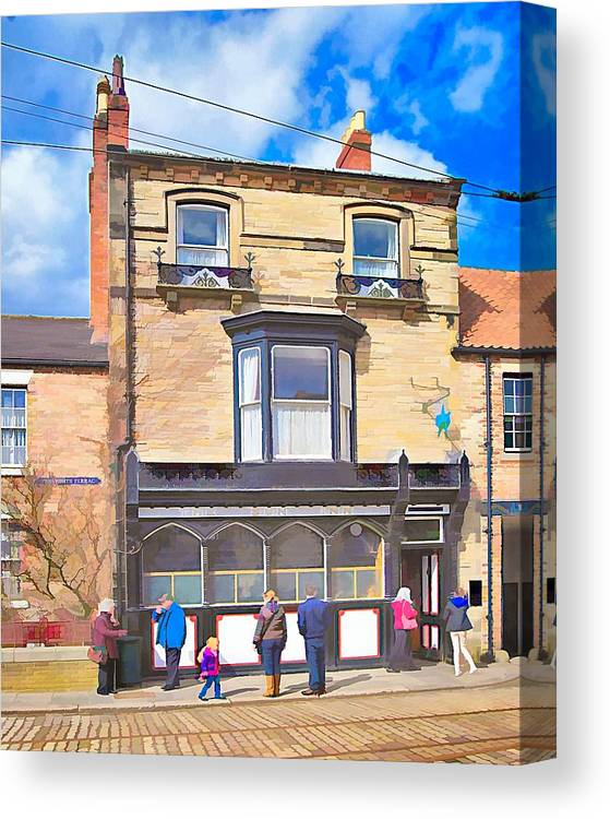 Beamish Canvas Print featuring the photograph The Sun Inn by John Lynch