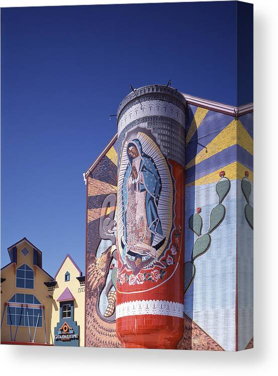2000s Canvas Print featuring the photograph Scenes Of Texas, The Virgin by Everett