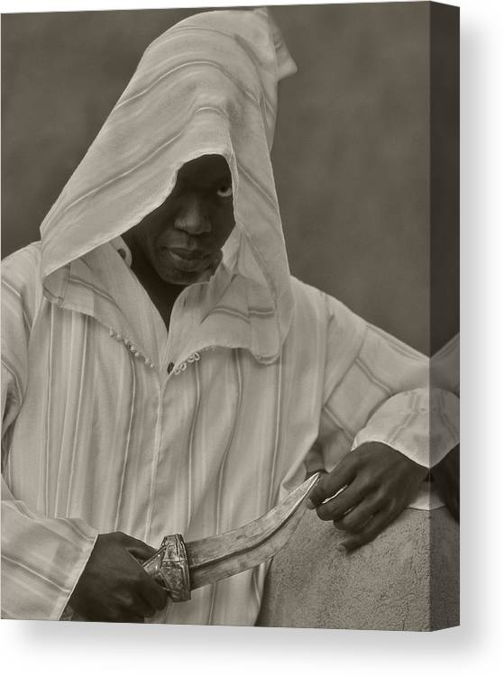 Dagger Canvas Print featuring the photograph The Guide by Stan Williams