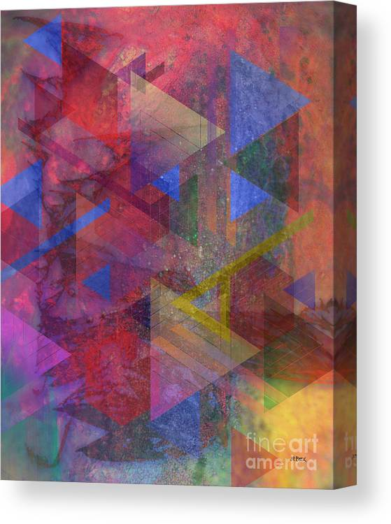 Another Time Canvas Print featuring the digital art Another Time by John Beck