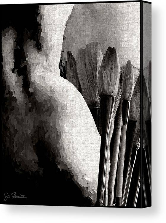 Nude Canvas Print featuring the photograph Artwork by Joe Bonita