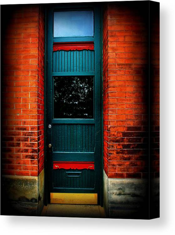 Door Canvas Print featuring the photograph Classic Door by Perry Webster